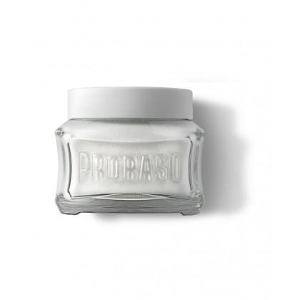 Proraso White Pre Shave Cream With Green Tea & Oatmeal 100ML