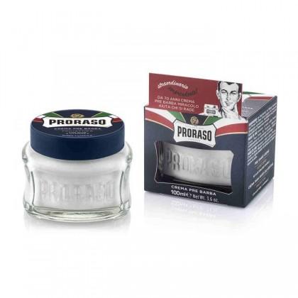 Proraso Blue Pre Shave Cream Aloe Vera 100ml