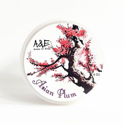 Ariana & Evans Asian Plum Shaving Soap 4oz Made in USA