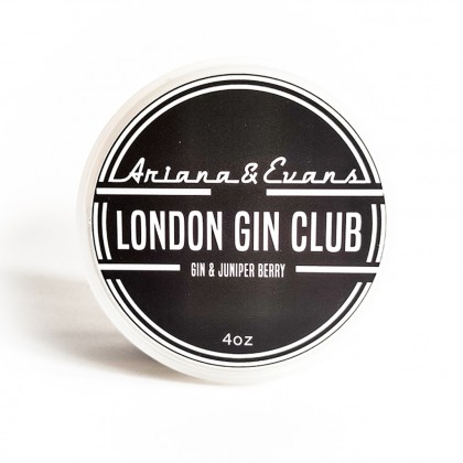 Ariana & Evans London Gin Club Shaving Soap 4oz Made in USA